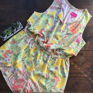 Lilly Pulitzer for Target Happy Place Romper 1X